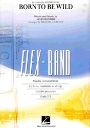 Hal Leonard Corporation FLEX-BAND - BORN TO BE WILD (grade 2-3) / partitura + party