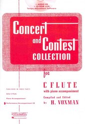 RUBANK CONCERT&CONTEST COLLECTIONS for Flute - CD s klavírním doprovodem