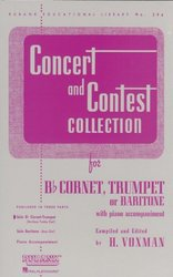 RUBANK CONCERT&CONTEST COLLECTIONS for Trumpet - solový sešit