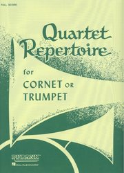 RUBANK Quartet Repertoire for Trumpet / partitura