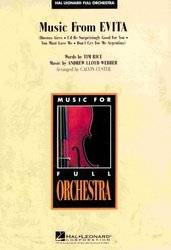Hal Leonard Corporation Music from Evita - full orchestra / partitura + party