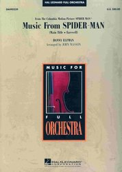 Hal Leonard Corporation MUSIC FROM SPIDER MAN    full orchestra