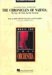Hal Leonard Corporation THE CHRONICLES OF NARNIA - full orchestra / partitura + party
