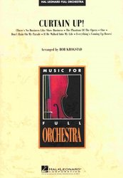 Hal Leonard Corporation CURTAIN UP! - full orchestra / partitura + party