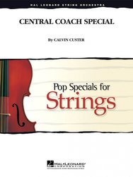 Hal Leonard Corporation Central Coach Special - Pop Specials for Strings / partitura + party