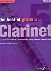 FABER MUSIC The Best of Grade 5 + CD / klarinet + klavír