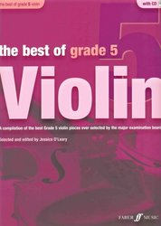 FABER MUSIC The Best of Grade 5 + CD / housle + klavír