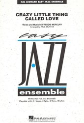 Hal Leonard Corporation Crazy Little Thing Called Love - Easy Jazz Ensemble + audio online / partitura + party