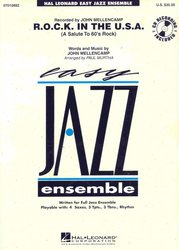 Hal Leonard Corporation R.O.C.K. IN THE U.S.A + CD      easy jazz band