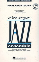 Hal Leonard Corporation FINAL COUNTDOWN + Audio Online   easy jazz band