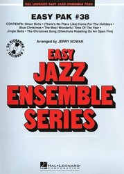 Hal Leonard Corporation EASY JAZZ BAND PAK 38 Christmas Songs (grade 2) + Audio Online / partitura + party