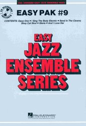 Hal Leonard Corporation EASY JAZZ BAND PAK 9 (grade 2) + Audio Online / partitura + party