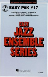 Hal Leonard Corporation EASY JAZZ BAND PAK 17 (grade 2) + Audio Online / partitura + party