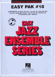 Hal Leonard Corporation EASY JAZZ BAND PAK 18 (grade 2) + Audio Online / partitura + party