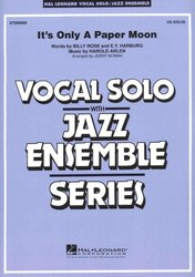 Hal Leonard Corporation It's Only a Paper Moon - Vocal Solo with Jazz Ensemble / partitura + party