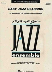 Hal Leonard Corporation EASY JAZZ CLASSICS -  PARTS       grade 2 (17 ks)
