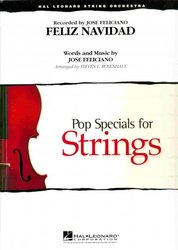 Hal Leonard Corporation FELIZ NAVIDAD  Pop Special for String Orchestra