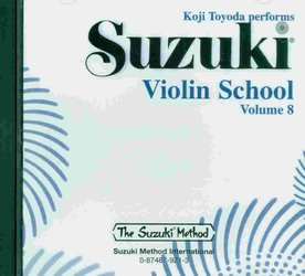 ALFRED PUBLISHING CO.,INC. Suzuki Violin School CD, Volume 8