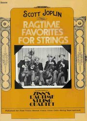 Warner Bros. Publications RAGTIME FAVORITES -  string quartet - parts