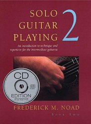 Music Sales America Solo Guitar Playing 2 + CD