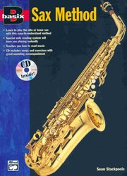 ALFRED PUBLISHING CO.,INC. BASIX - SAX METHOD + CD / alto a tenor saxofon