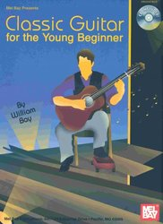 MEL BAY PUBLICATIONS CLASSIC GUITAR FOR THE YOUNG BEGINNER + CD