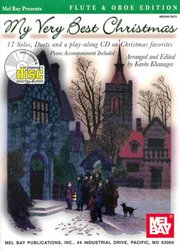 MEL BAY PUBLICATIONS My Very Best Christmas + CD      C instruments&piano  (17 solos or duets)