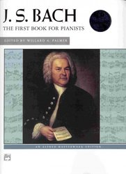 ALFRED PUBLISHING CO.,INC. J.S.BACH + CD   the first book for pianists