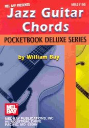 MEL BAY PUBLICATIONS JAZZ GUITAR CHORDS  -  POCKETBOOK DELUXE