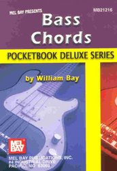 MEL BAY PUBLICATIONS Bass Chords - Pocketbook Deluxe