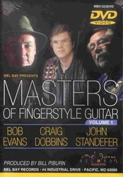 MEL BAY PUBLICATIONS Masters of Fingerstyle Guitar, volume 1 - DVD