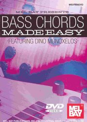 MEL BAY PUBLICATIONS BASS CHORDS Made Easy - DVD