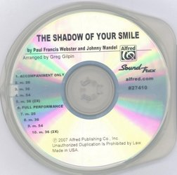 ALFRED PUBLISHING CO.,INC. The Shadow of Your Smile / SoundTrax CD (CD s hudebním doprovodem)