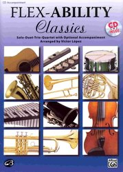 ALFRED PUBLISHING CO.,INC. FLEX-ABILITY CLASSICS - CD s doprovodem