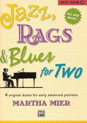 ALFRED PUBLISHING CO.,INC. JAZZ, RAGS&BLUES FOR TWO 5  - 1 piano 4 hands