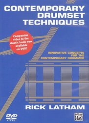 ALFRED PUBLISHING CO.,INC. Contemporary Drumset Techniques by Rick Latham - DVD