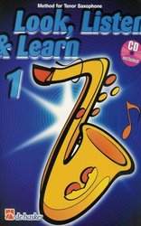 Hal Leonard MGB Distribution LOOK, LISTEN&LEARN 1 + CD method for tenor sax