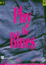Hal Leonard MGB Distribution PLAY THE BLUES + CD    Bb instruments duets