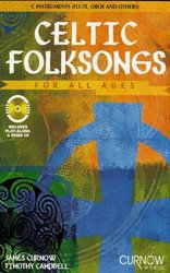 CURNOW MUSIC PRESS, Inc. CELTIC FOLKSONGS FOR ALL AGES + CD   C nástroje