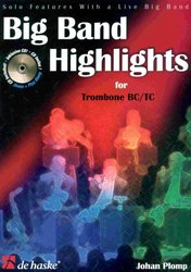 Hal Leonard MGB Distribution BIG BAND HIGHLIGHTS + CD                   trombon (pozoun)  BC / TC