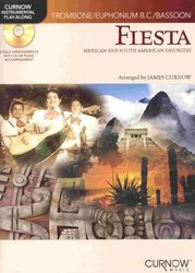 CURNOW MUSIC PRESS, Inc. FIESTA - Mexican&South American Favorites + CD / trombon (pozoun)
