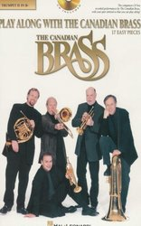 Hal Leonard Corporation PLAY ALONG WITH THE CANADIAN BRASS (easy)  + CD   trumpeta 2