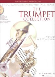 SCHIRMER, Inc. THE TRUMPET COLLECTION (intermediate - advance) + 2xCD / trumpeta + klavír
