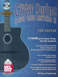 MEL BAY PUBLICATIONS Gypsy Swing&Hot Club Rhythm for Guitar II + CD / kytara + tabulatura