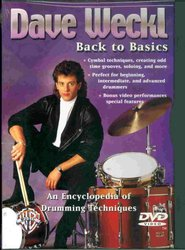 Warner Bros. Publications DAVE WECKL - BACK TO BASIC      DVD