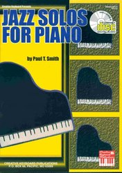 MEL BAY PUBLICATIONS JAZZ SOLOS FOR PIANO by Paul T.Smith + CD