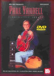 MEL BAY PUBLICATIONS Paul Yandell: Fingerstyle Legacy - DVD