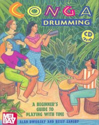 MEL BAY PUBLICATIONS Conga Drumming : A Beginner's Guide + CD