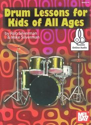 MEL BAY PUBLICATIONS DRUM Lessons for Kids of All Ages + Audio Online