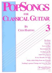 ALSBACH - EDUCA POPSONGS 3 for Classical Guitar by Cees Hartog
